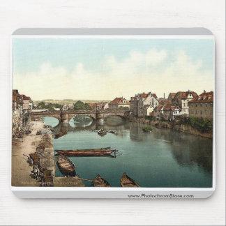 Fulda Bridge, Cassel (i.e., Kassel), Hesse-Nassau, Mousepad