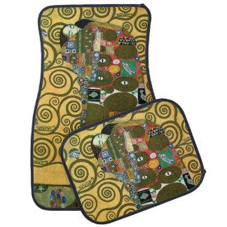 Fulfillment aka The Embrace by Gustav Klimt Car Mat
