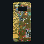 "Fulfillment aka The Embrace by Gustav Klimt Case-Mate Samsung Galaxy S8 Case<br><div class=""desc"">Fulfillment (The Embrace) (1909) by Gustav Klimt. A vintage Victorian Era Symbolism fine art love and romance portrait painting featuring a young couple hugging. The Stoclet Frieze is a series of three mosaics commissioned for the dining room in the Palais Stoclet in Brussells. About the artist: Gustav Klimt (1862-1918) was...</div>"