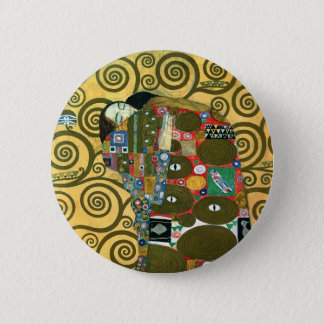 Fulfillment aka The Embrace by Gustav Klimt Pinback Button