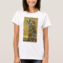 Fulfillment aka The Embrace by Gustav Klimt T-Shirt