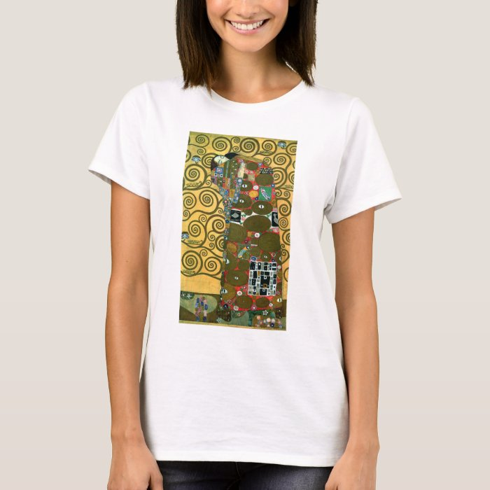 Fulfillment aka the embrace by gustav klimt t shirt zazzle for T shirt printing and fulfillment