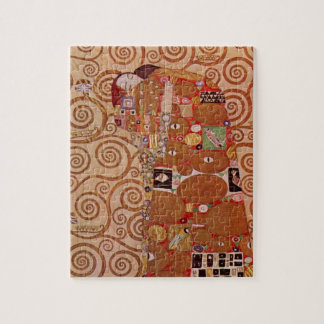 Fulfillment by Gustav Klimt, Vintage Art Nouveau Jigsaw Puzzle