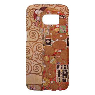 Fulfillment by Gustav Klimt, Vintage Art Nouveau Samsung Galaxy S7 Case