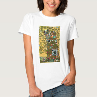Fulfillment (The Embrace) by Gustav Klimt Shirts