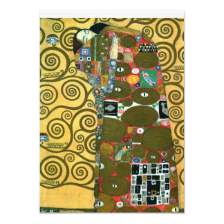 Fulfillment (The Embrace), Klimt, Save the Date Card