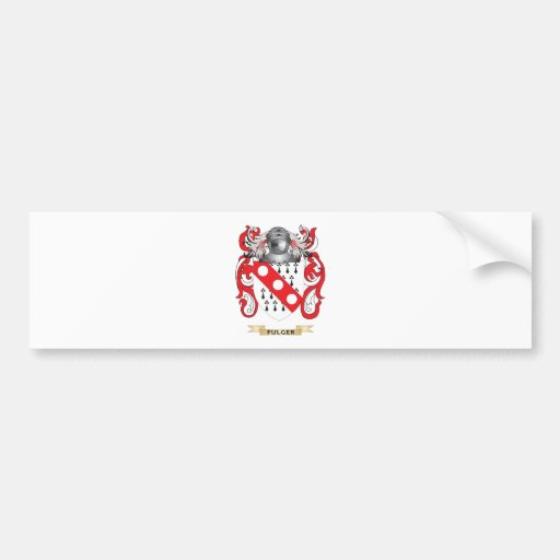 Fulger Coat of Arms Car Bumper Sticker