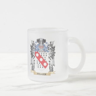 Fulger Coat of Arms - Family Crest 10 Oz Frosted Glass Coffee Mug