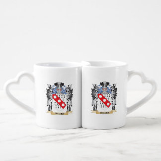 Fulger Coat of Arms - Family Crest Couples' Coffee Mug Set
