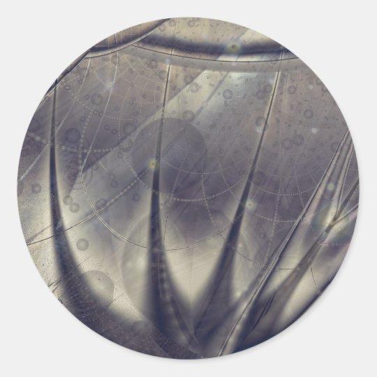 Fulgid Aloe Classic Round Sticker