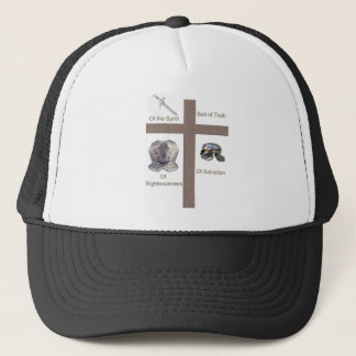Full Armor of God Christian products Trucker Hat