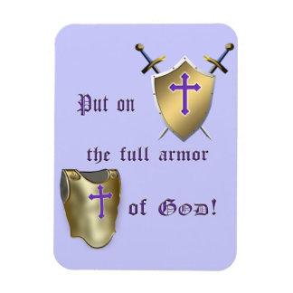 Full Armor of God Magnet