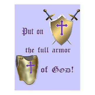 Full Armor of God Postcard