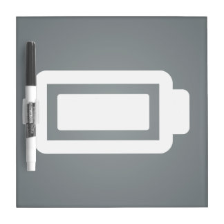 Full Batteries Minimal Dry Erase Boards