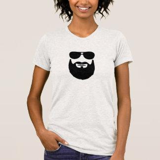 Full beard sunglasses tees