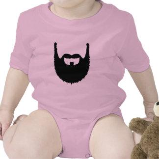 Full beard t shirt