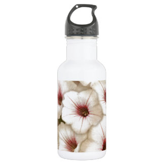 Full Bed of Hibiscus Stainless Steel Water Bottle