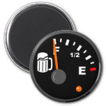 FULL BEER TANK 2 INCH ROUND MAGNET