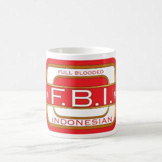 Full Blooded Indonesian Classic White Coffee Mug