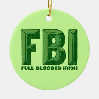 Full Blooded Irish Ornament