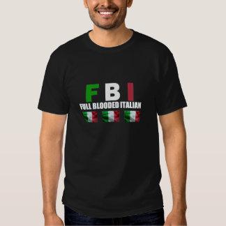 FULL BLOODED ITALIAN Black Shirt