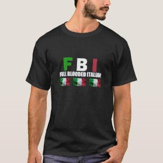 FULL BLOODED ITALIAN Black T-Shirt
