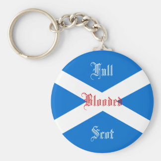 FULL BLOODED SCOT KEYCHAIN