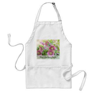Full Bloom - Hellebores! Apron