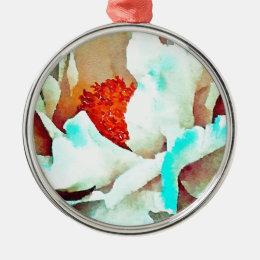 Full Bloom Metal Ornament