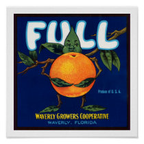 Full Brand Oranges Label