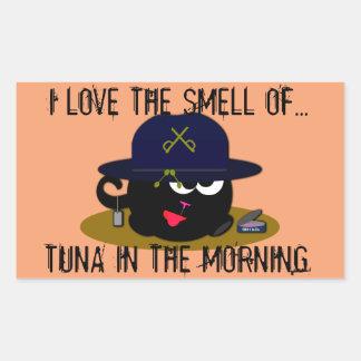 Full Can of Tuna Rectangular Sticker