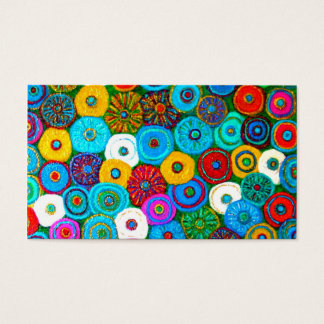 Full Circle Bookmark  party favor Business Card