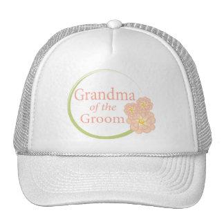 Full Circle Floral Grandma of the Groom Trucker Hat