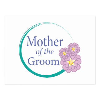 Full Circle Floral Mother of the Groom Postcard