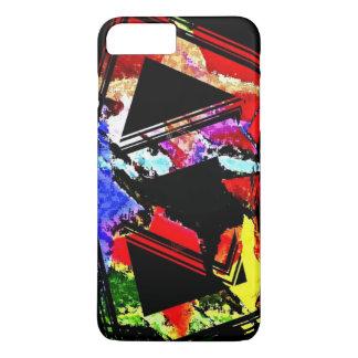 Full Color Geometric Design iPhone 7 Plus case