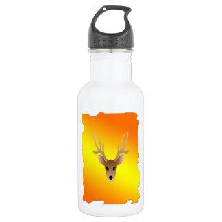 Full Color Head Dear Water Bottle