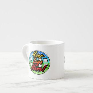 Full Color Logo Corporate Gift Custom Espresso Mug