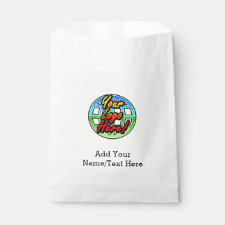 Full-Color Logo Promotional Corporate Printed Favor Bag