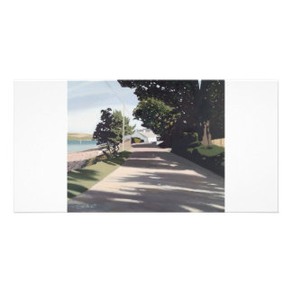 Full colour fine art illustrated  photocard card