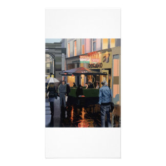 Full colour illustrated fine art photocard card