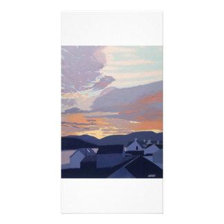 Full colour illustrated fine art photocard. card