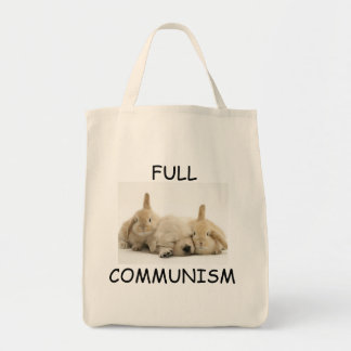 Full Communism Puppy and Bunnies Tote Tote Bag