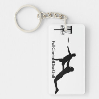 Full Contact Disc Golf Key Chain