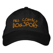 Full Contact Dogsport Embroidered Baseball Hat