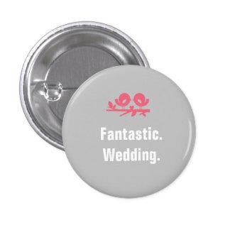 Full Customizable Wedding Buttons
