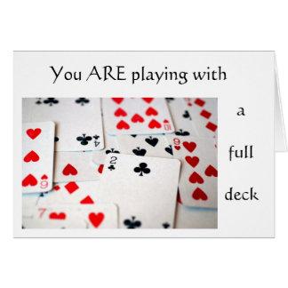 Full Deck Card