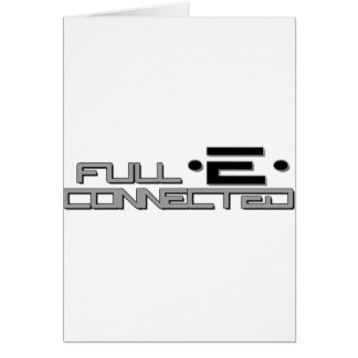 Full-E Connected Logo Card