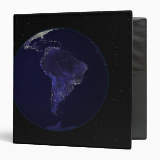 Full Earth at night showing city lights 6 Binder