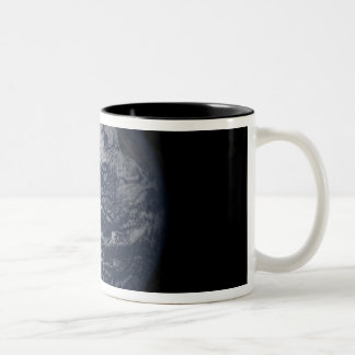 Full Earth centered over the Pacific Ocean Coffee Mug