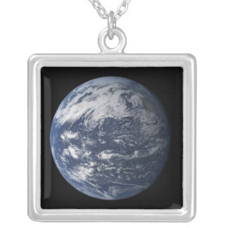 Full Earth centered over the Pacific Ocean Necklace